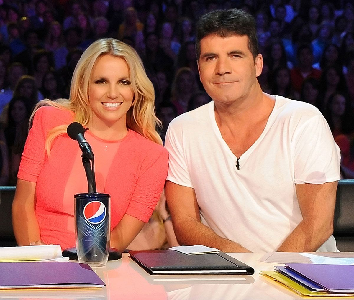 britney spears and simon cowell relationship