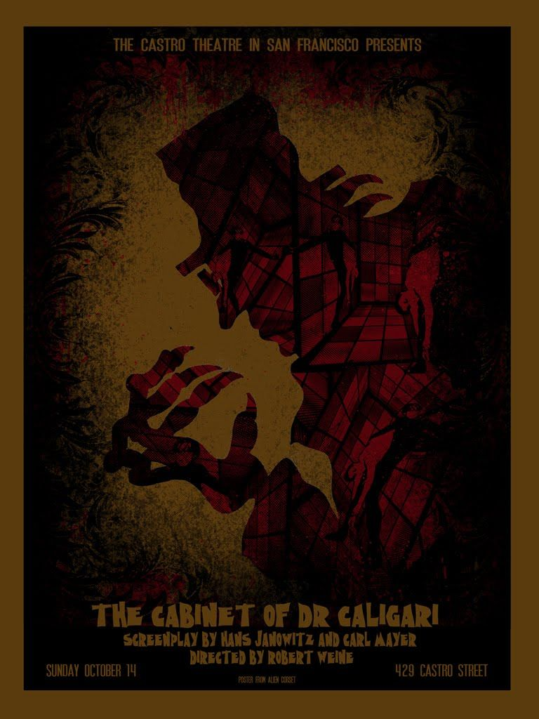 Amazing Posters by David O'Daniel for THE CABINET OF DR. CALIGARI ...