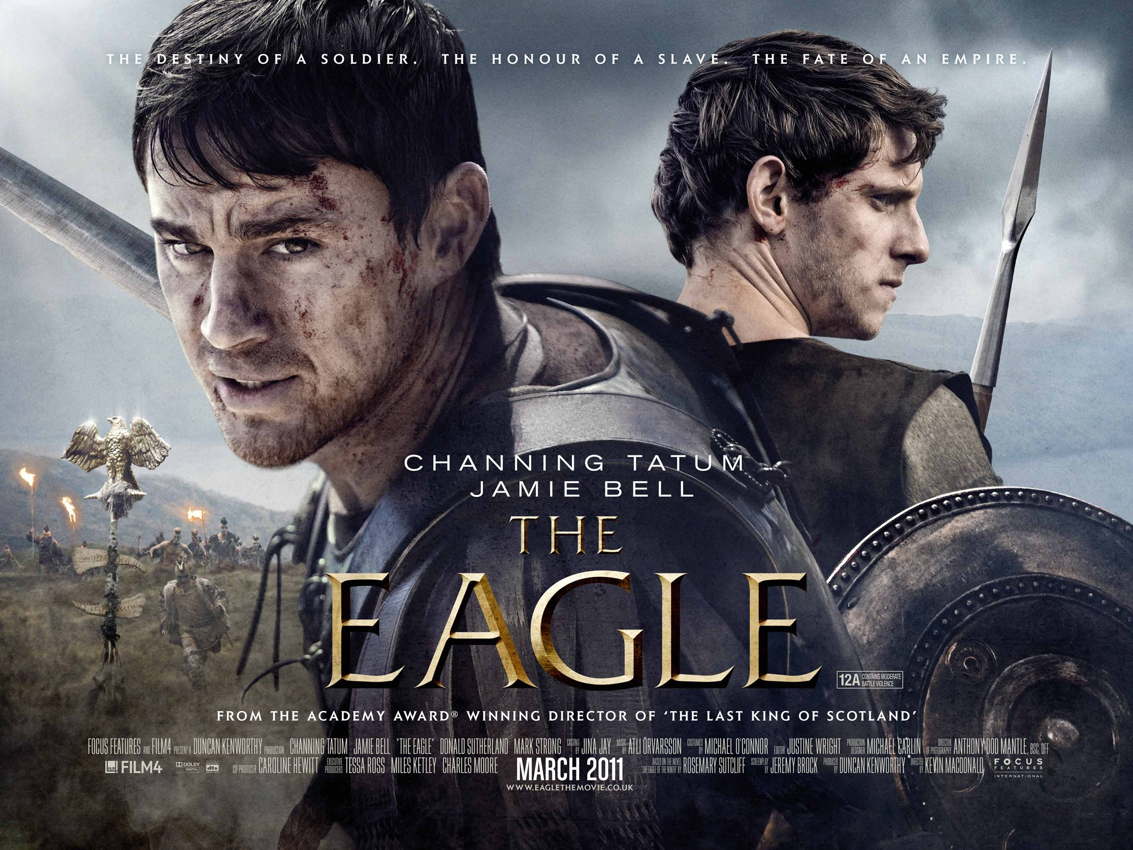 channing tatum interview the eagle | collider