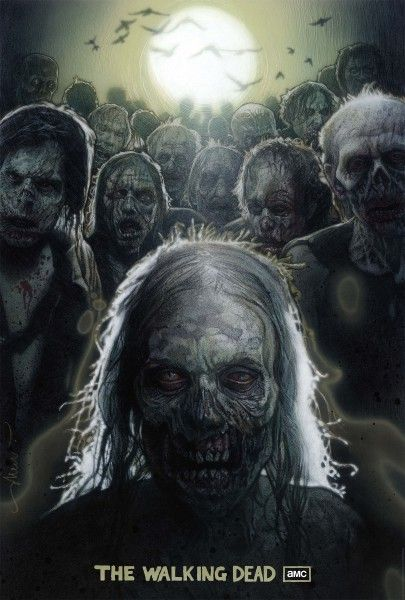 the_walking_dead_drew_struzan_comic_con_poster
