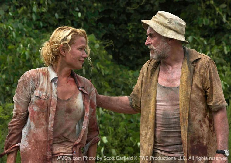 Laurie Holden Interview The Walking Dead Collider