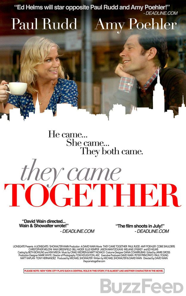 THEY CAME TOGETHER Clip and Poster. THEY CAME TOGETHER ...