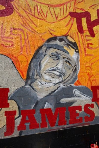 this is the end mural james franco