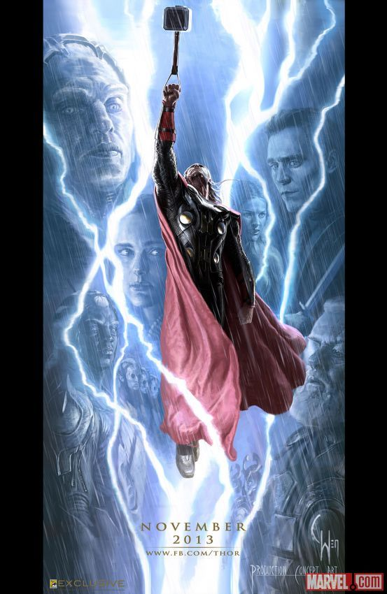 artwork gods lightning marvel - photo #41