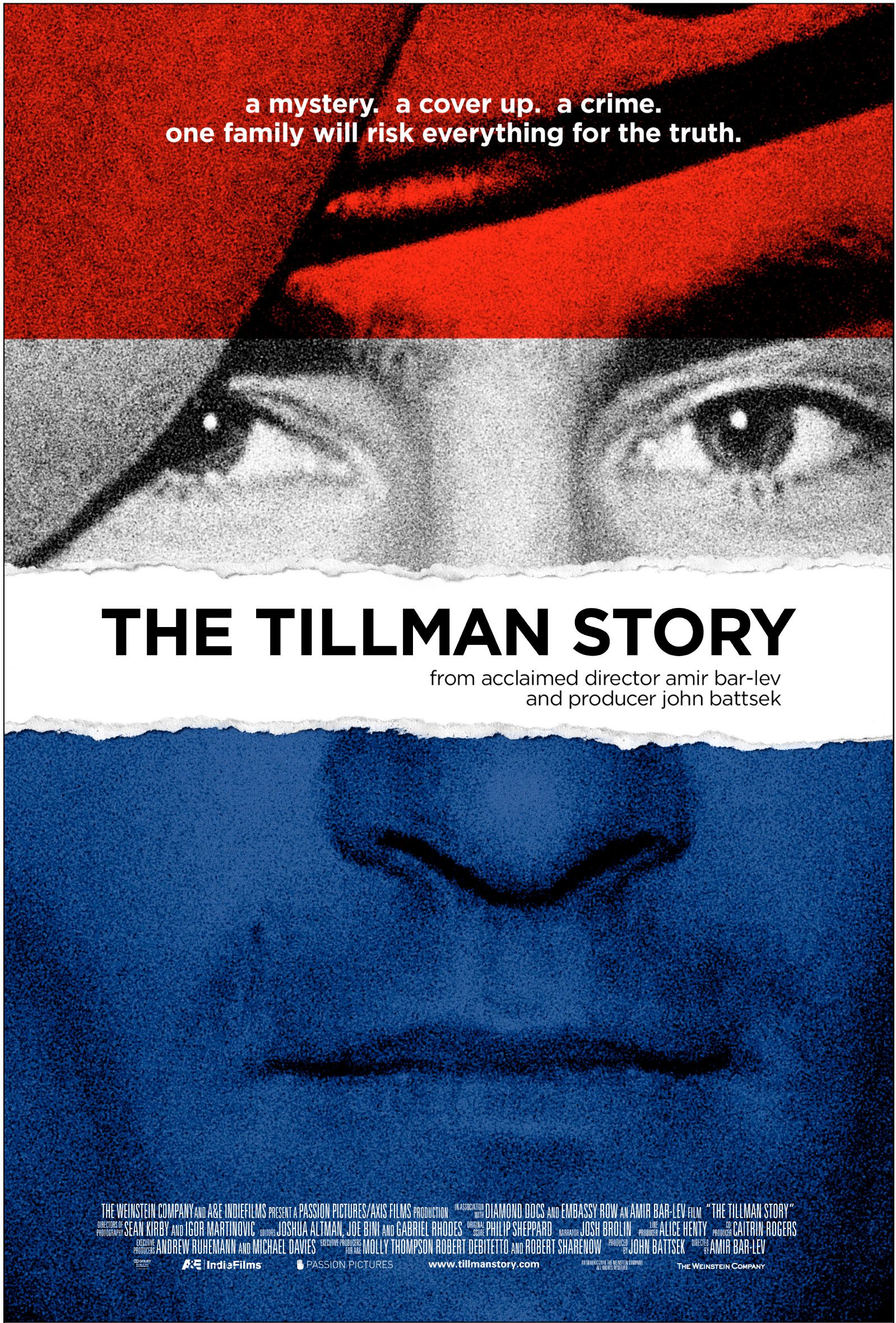 Poster For The Documentary THE TILLMAN STORY