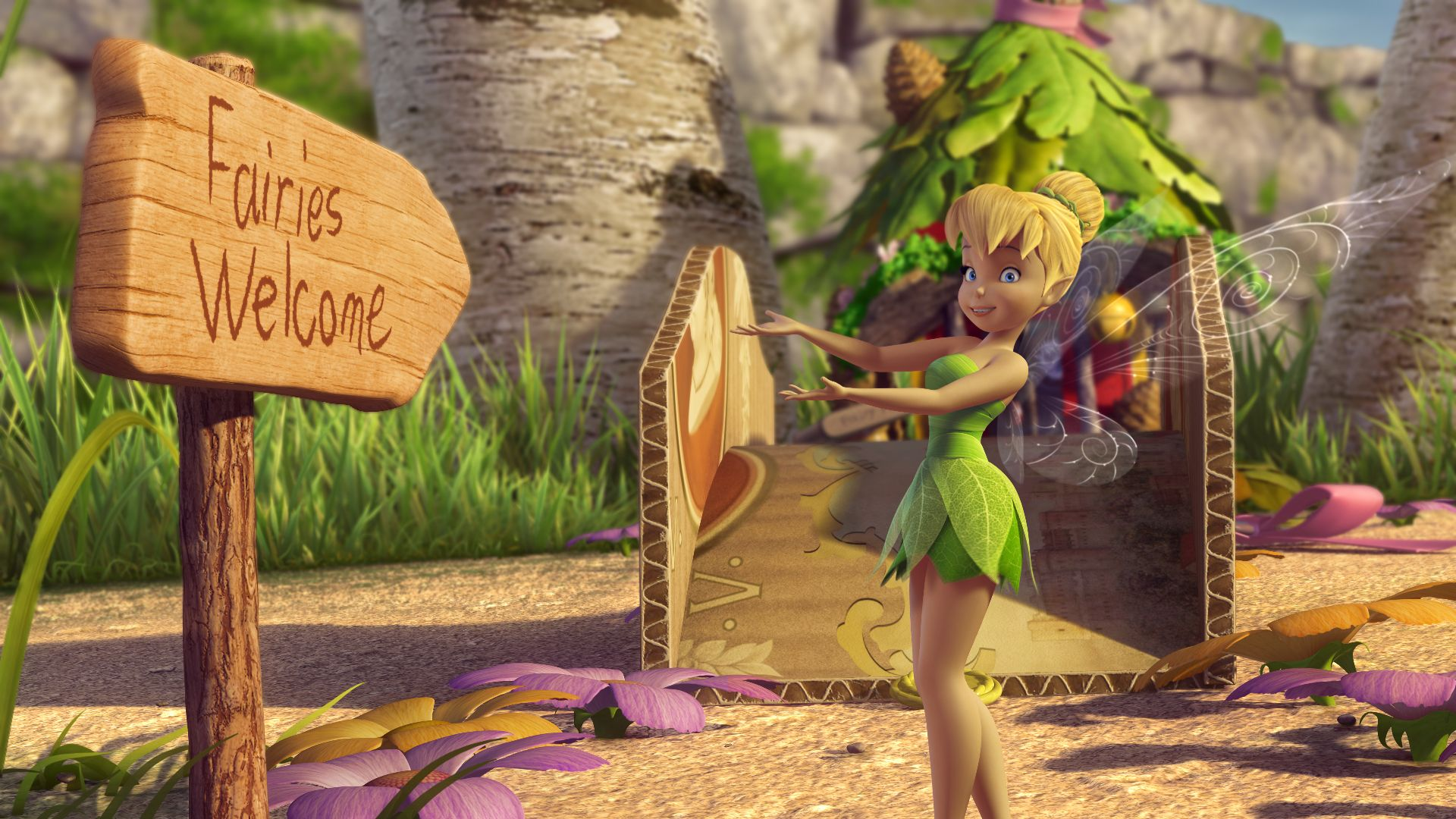 tinker bell and the great fairy rescue blu ray review collider