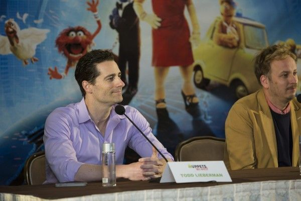 MUPPETS MOST WANTED todd-lieberman press conference