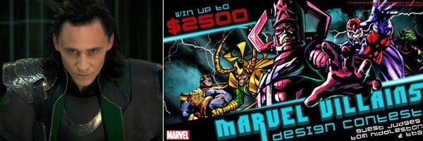 tom hiddleston marvel villains design contest