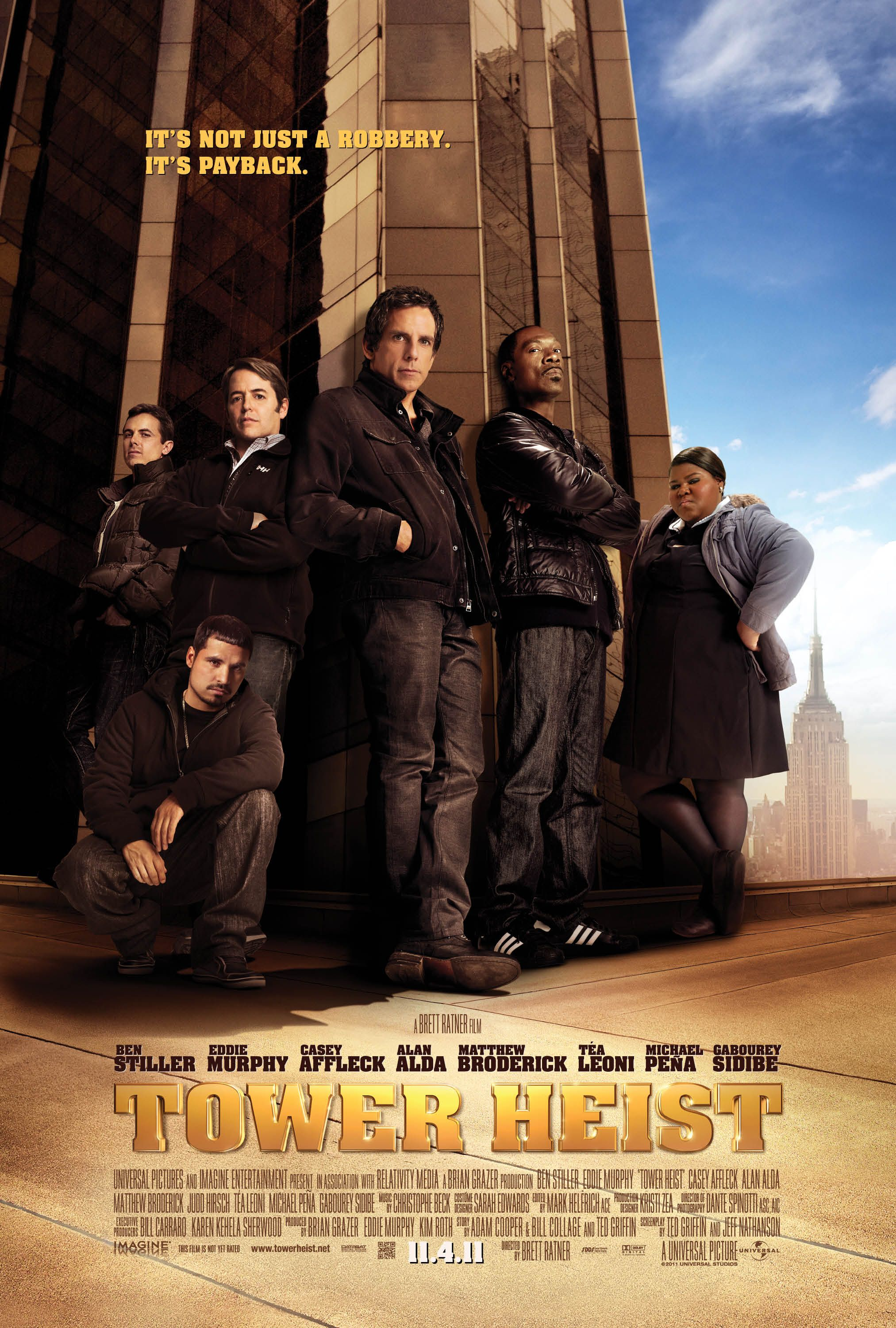 TOWER HEIST Trailer and Poster | Collider