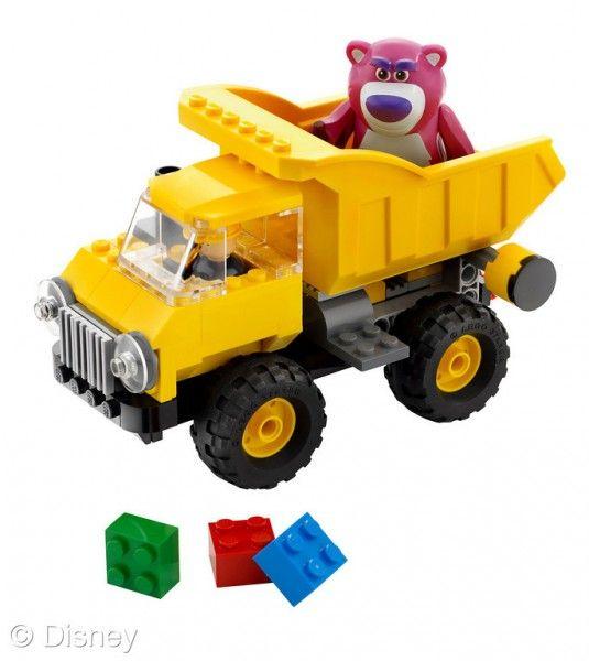 Toy Story 3 Lotso's Dump Truck Lego