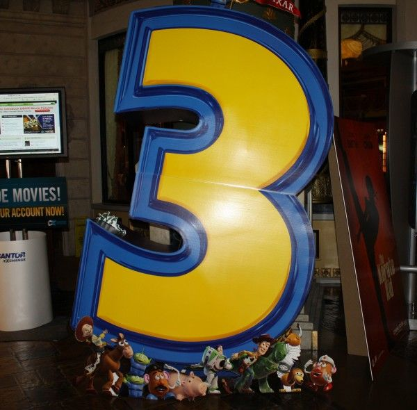 Toy Story 3 movie theater standee