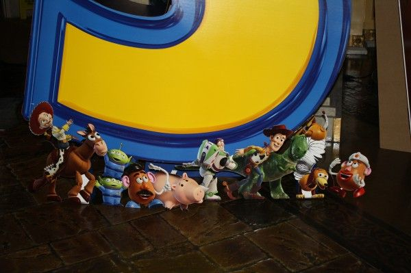 Toy Story 3 movie theater standee 1