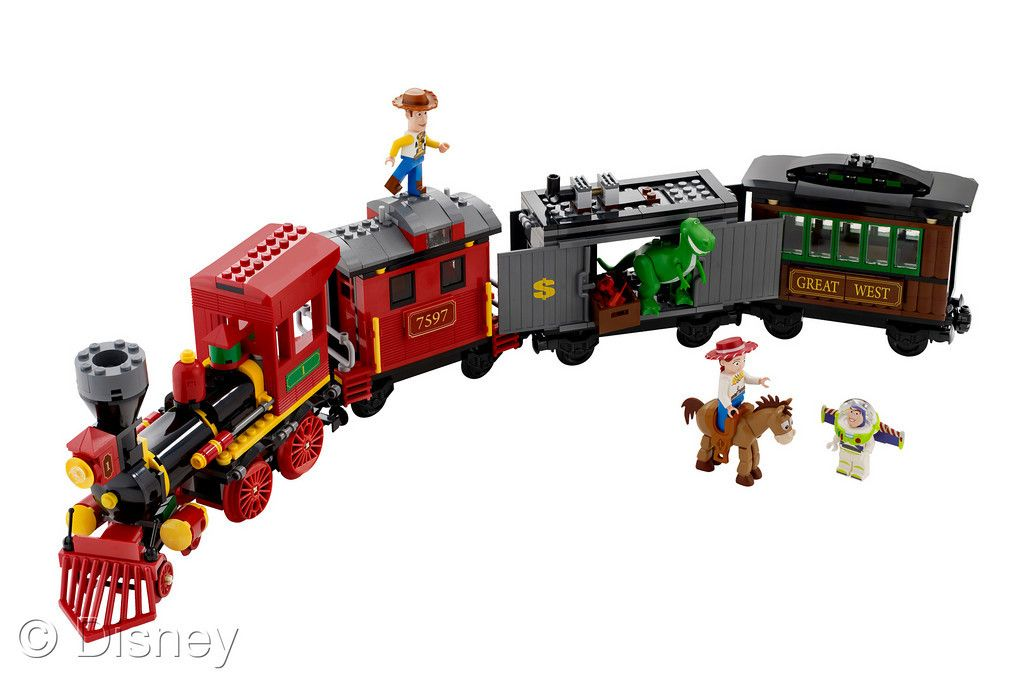 New Toy Story 3 Train : Toy story at fair take a look the toys disney