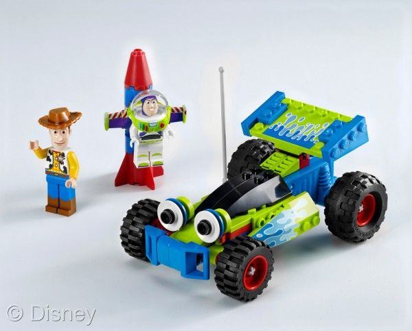 Toy Story Buzz and Woody to the Rescue Lego