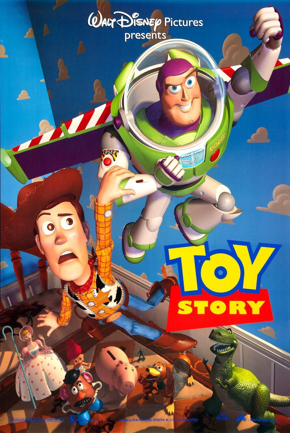 Toy Story Toys : Toy story plot details woody goes on the search for bo