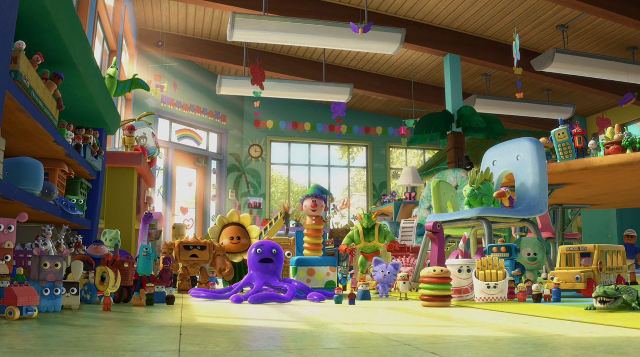 Day Care Toy Story 3 : New toy story trailer with high resolution images