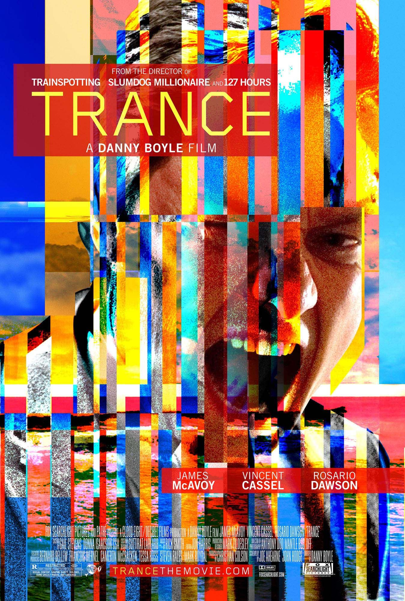 Danny Boyle's TRANCE Set for April 5th U.S. Release; New ...