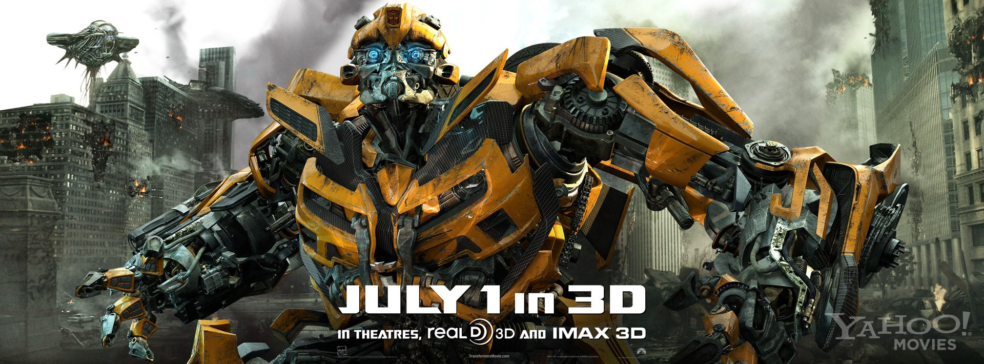 transformers 3 poster shockwave | collider
