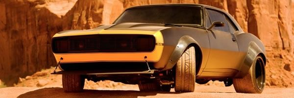 TRANSFORMERS 4 Bumblebee Image of CamaroForm TRANSFORMERS 4
