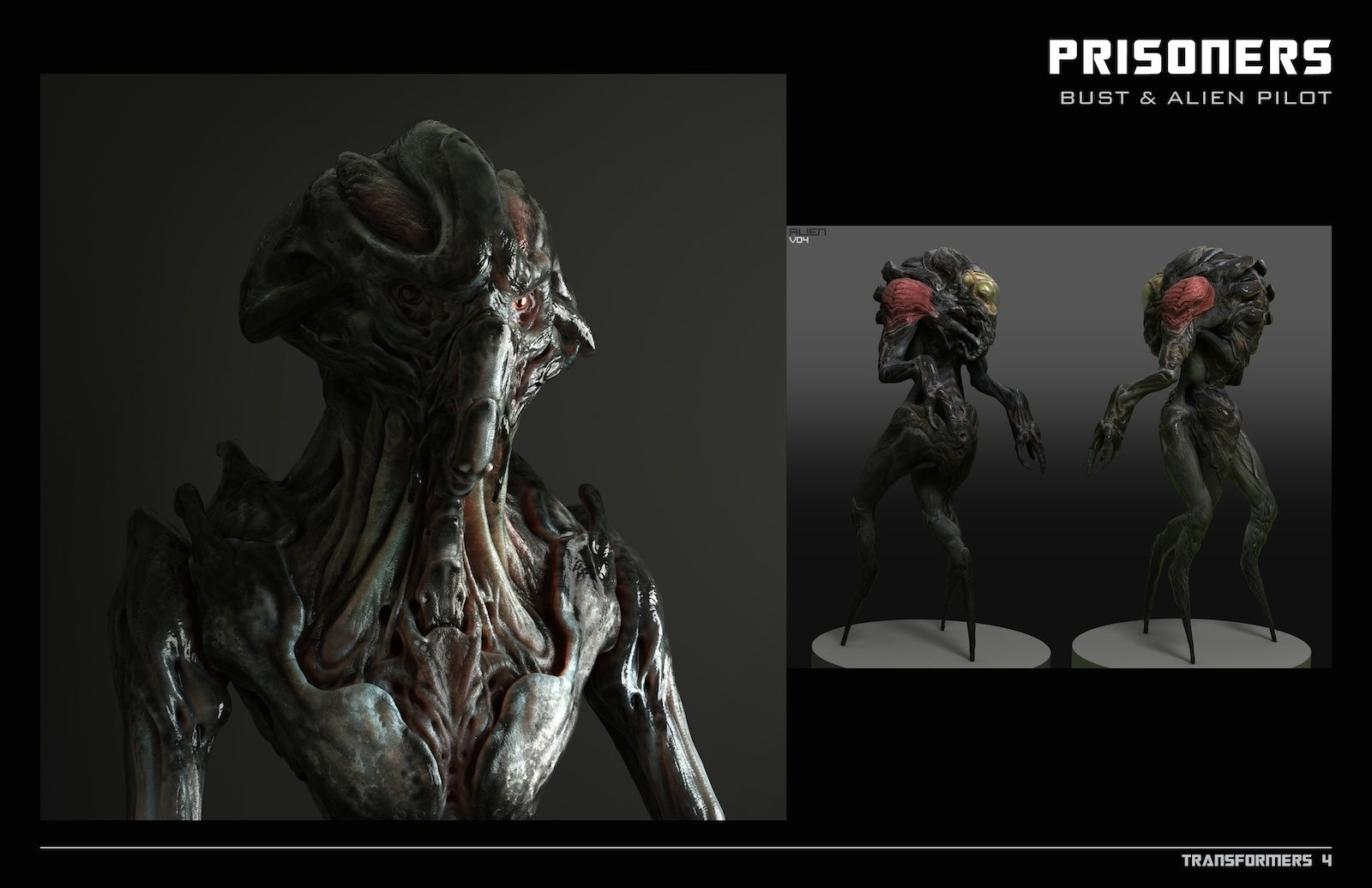 Transformers Age Of Extinction Concept Art And Extras