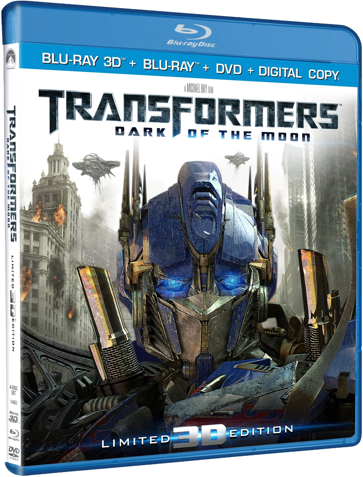 transformers: dark of the moon 3d blu-ray details | collider