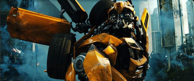 Bumblebee Spinoff Compared To The Iron Giant Collider