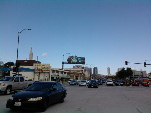 Tron Legacy_Billboard Los Angeles 3.9.10 collider.com