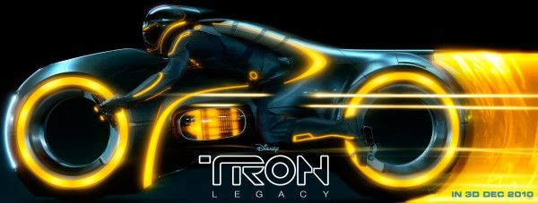 Tron Yellow Billboard Movie Poster
