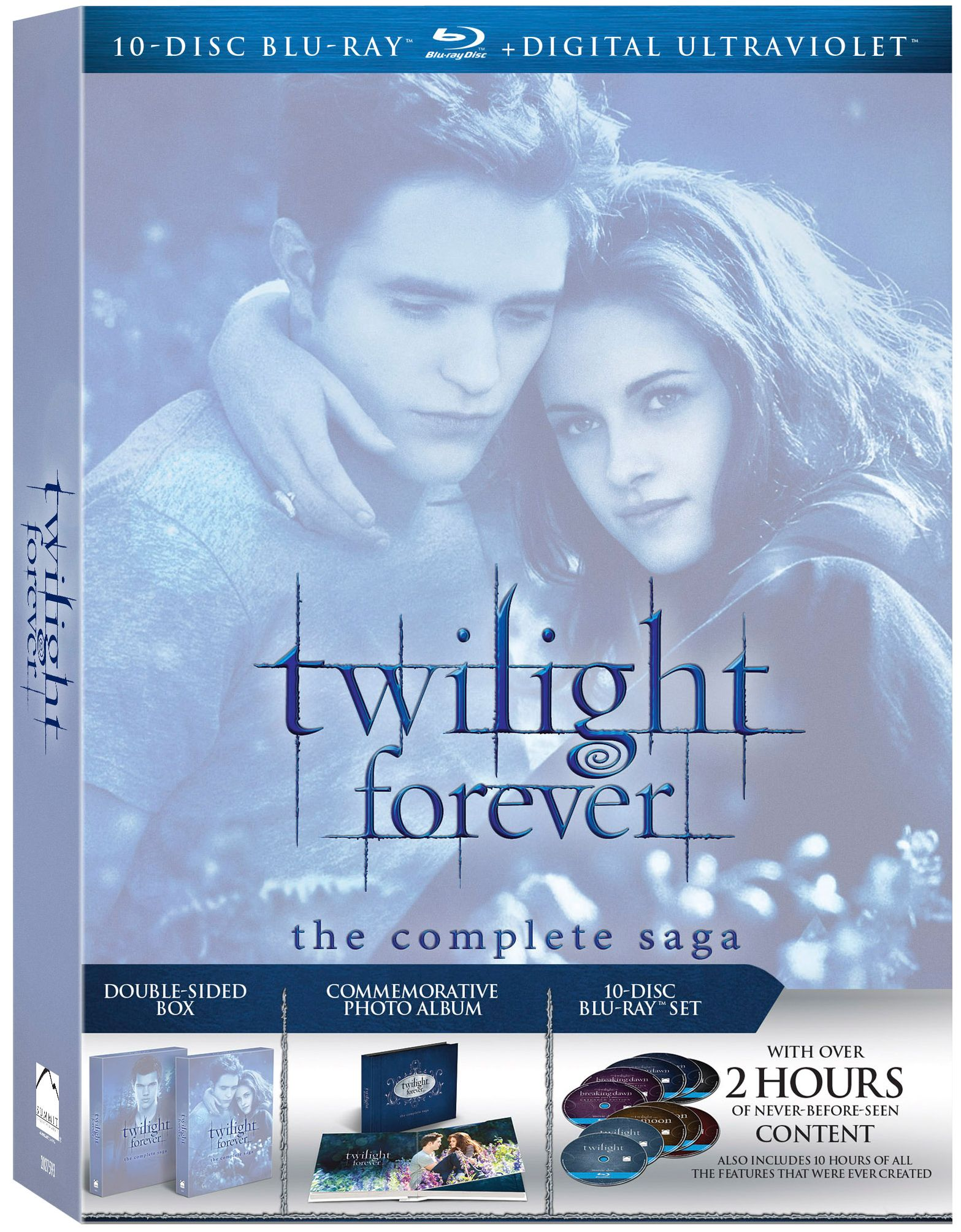 TWILIGHT FOREVER: THE COMPLETE SAGA Blu-ray Announced for November ...