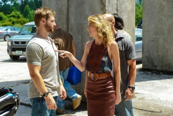 under the dome let the games begin mike vogel natalie zea