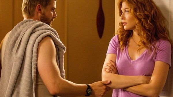 under the dome the fire mike vogel rachelle lefevre
