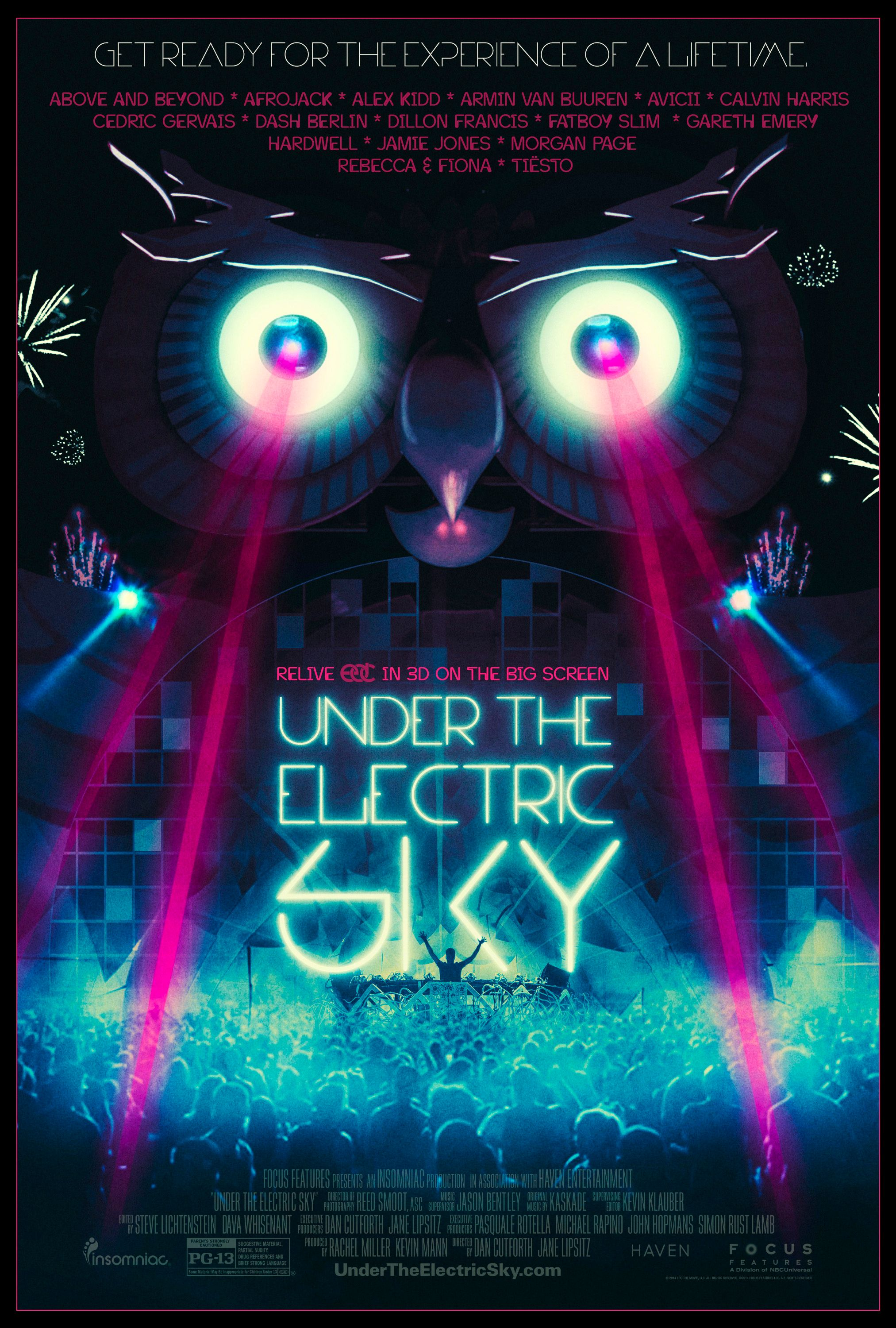 Under The Electric Sky Poster And Trailer Collider