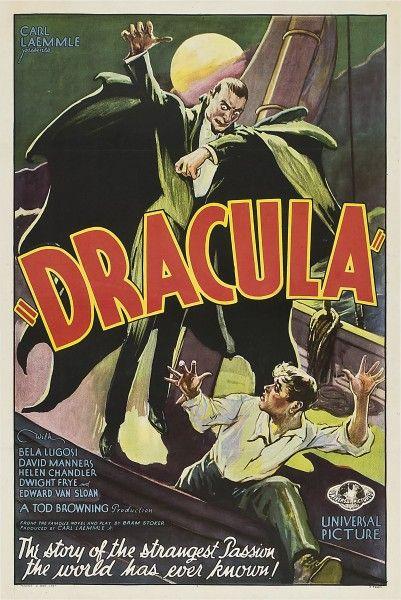 universal dracula poster