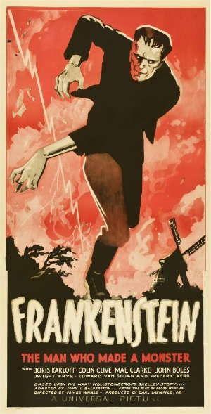 universal frankenstein poster