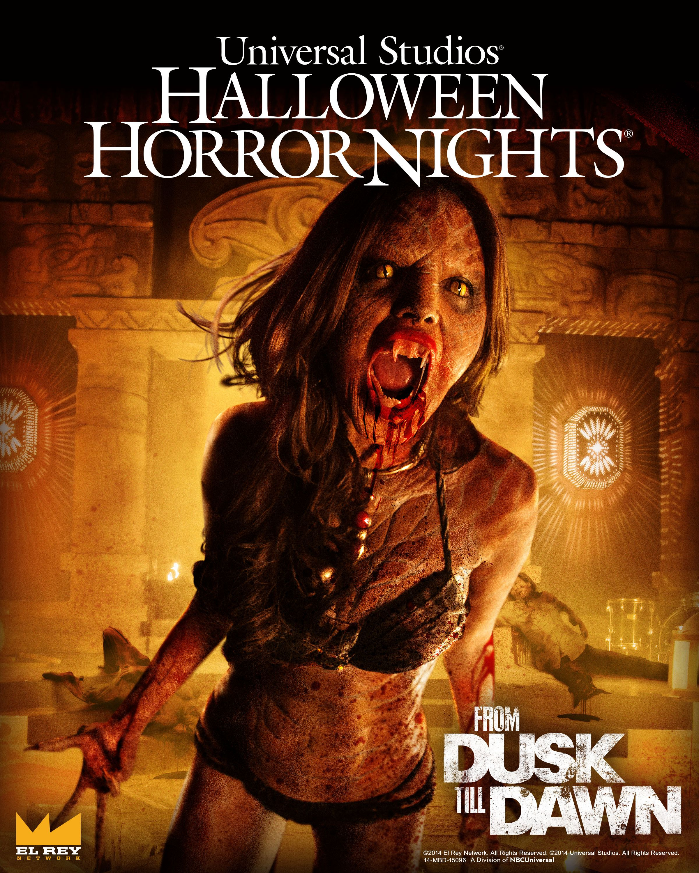 universal halloween horror nights from dusk til dawn - Universal Halloween Night