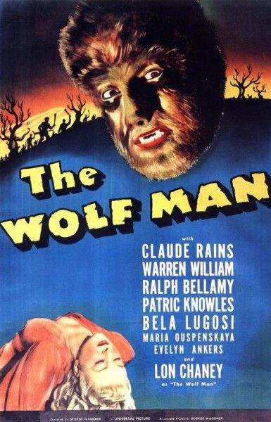 universal the wolf man poster