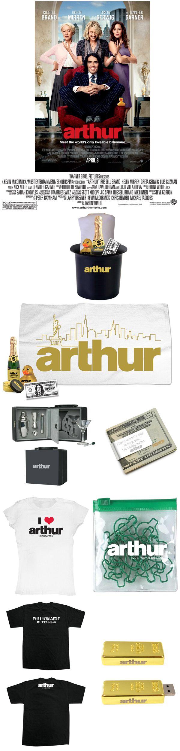 ARTHUR giveaway image