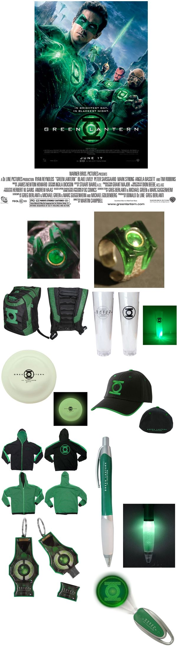 Green Lantern movie giveaway
