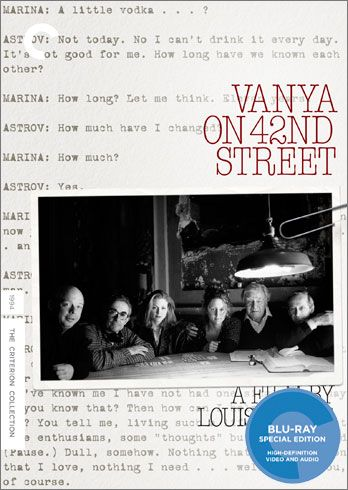 vanya on 42nd street blu ray cover