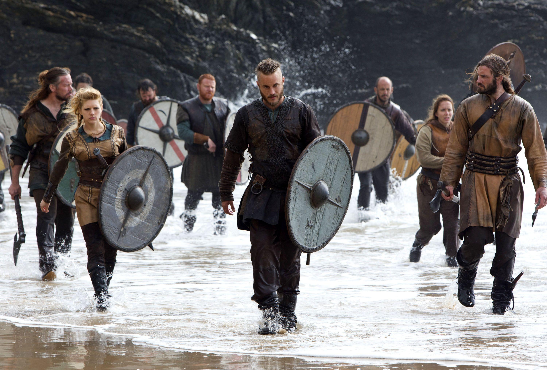 Pity, that katheryn winnick vikings scene