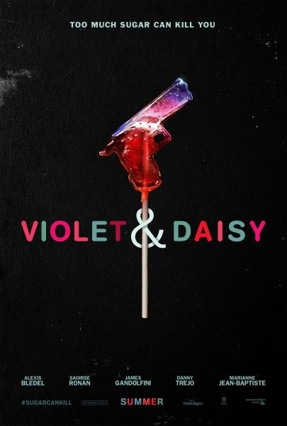 violet-daisy-poster