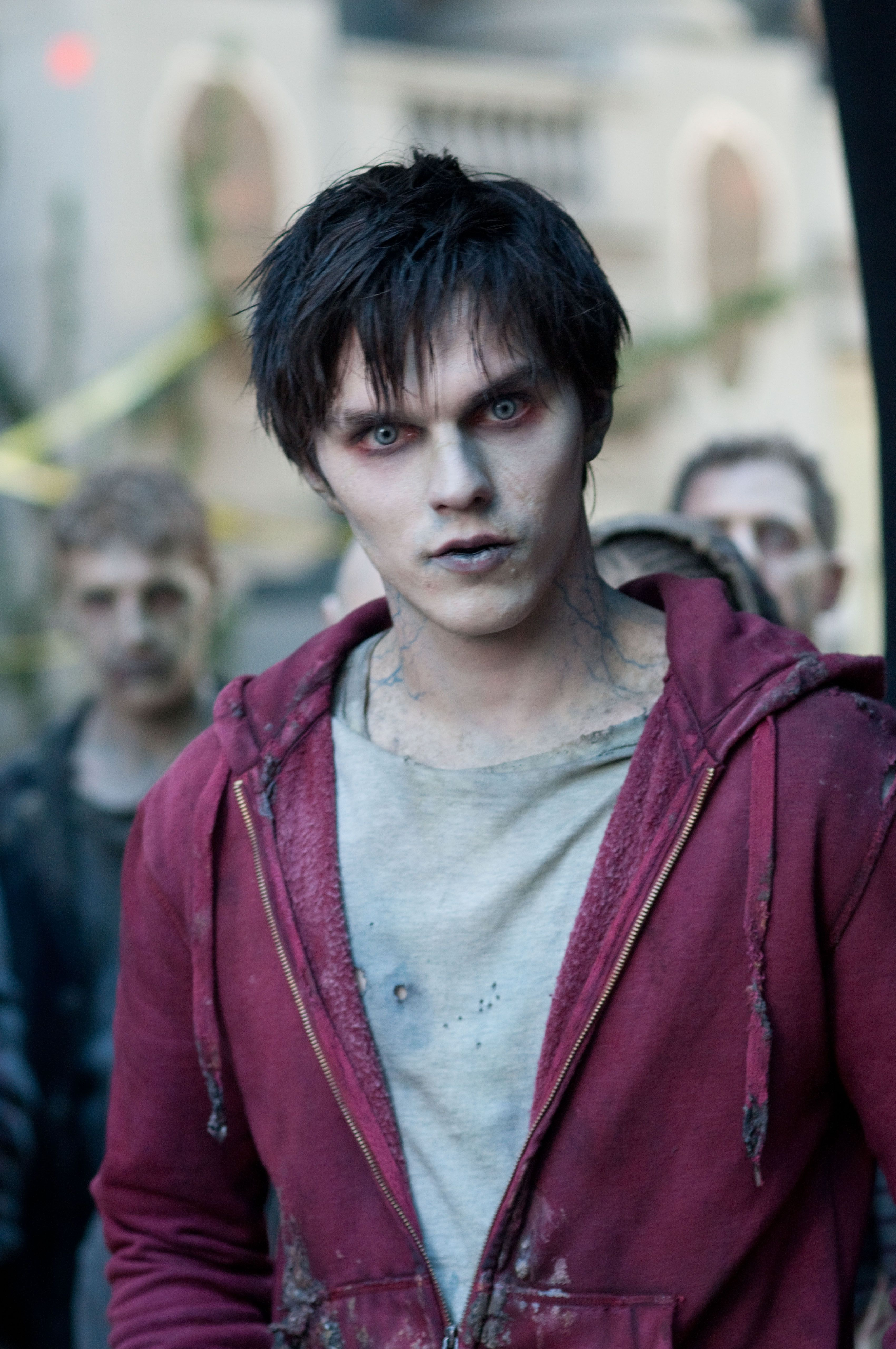 Nicholas Hoult as a Zombie in WARM BODIES | Collider