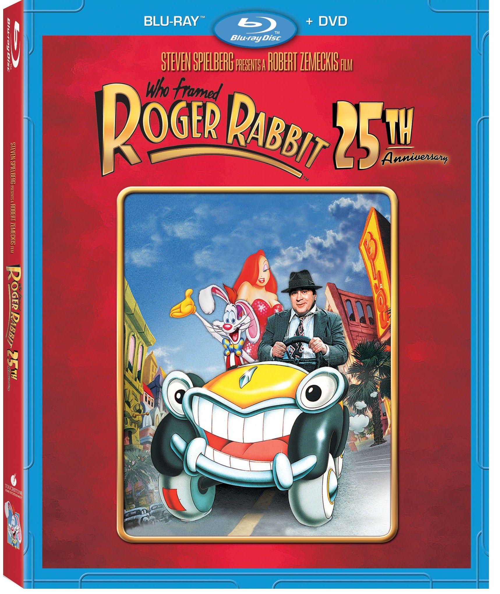 who framed roger rabbit blu ray