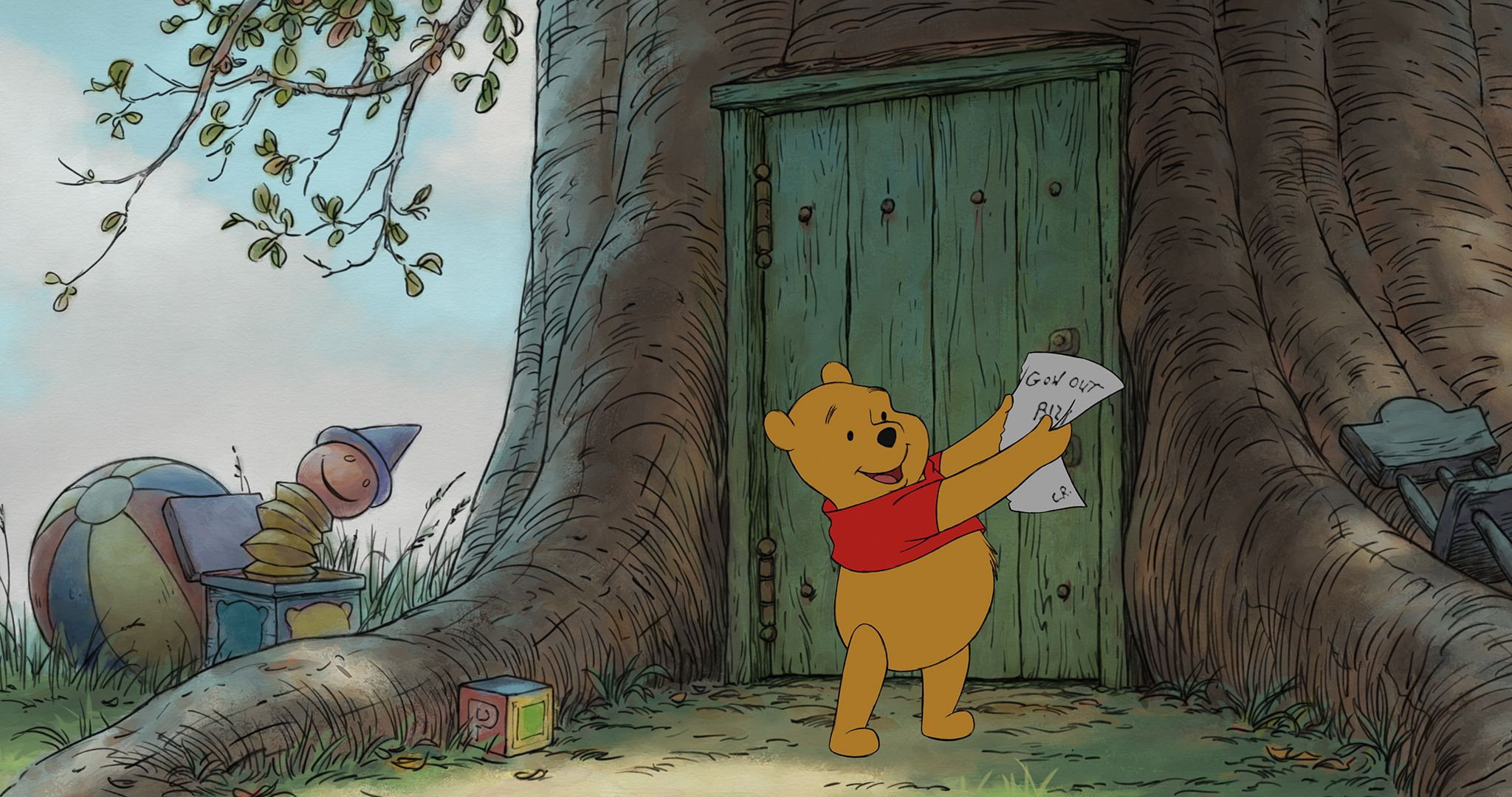 Winnie the pooh movie images collider for Winnie pooh ka che