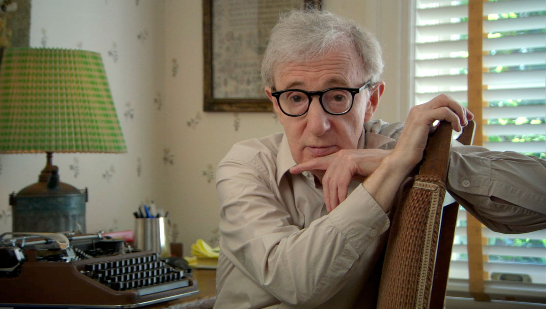 I think the big hump to get Woody Allen