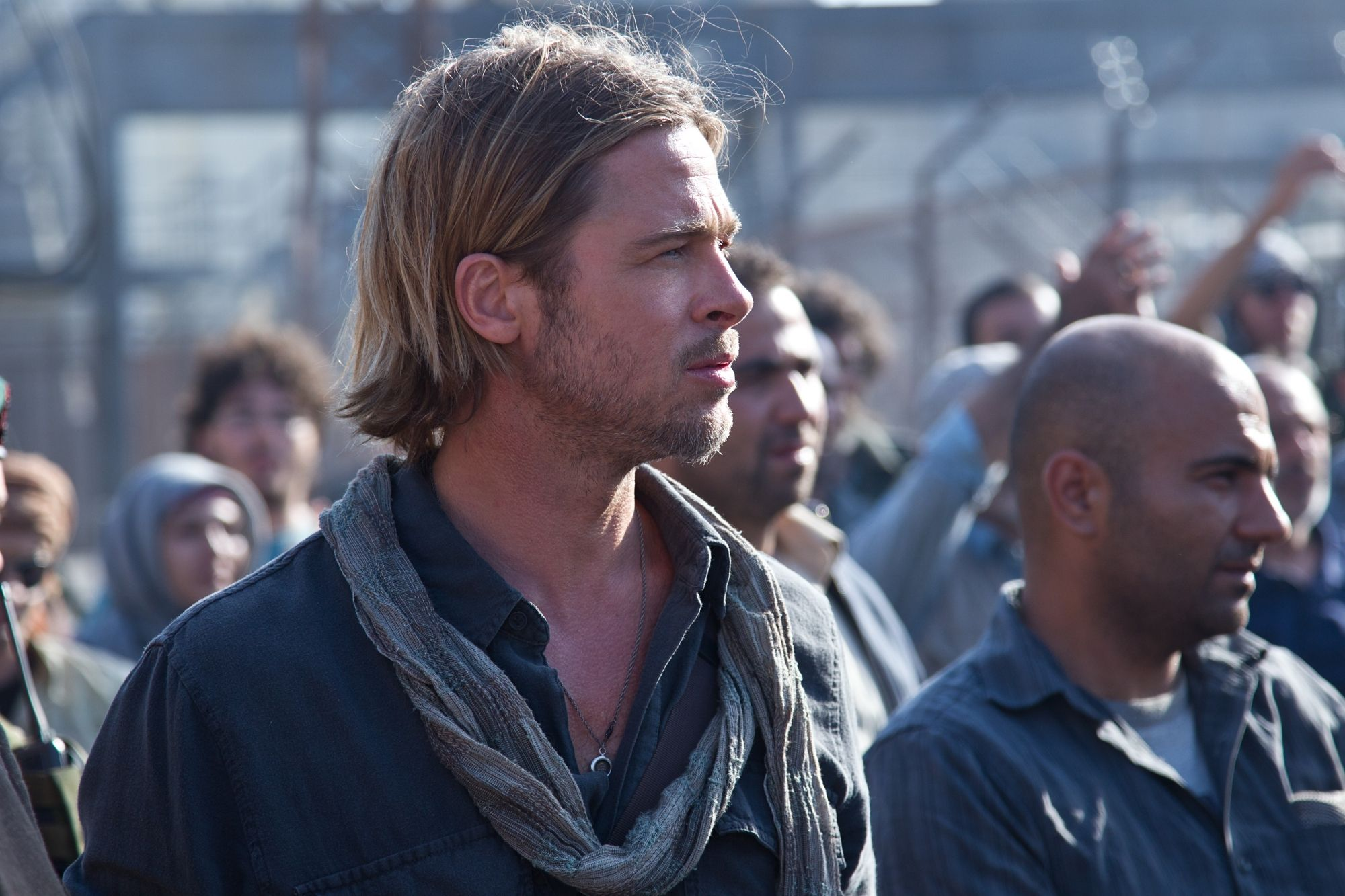World War Z Images Featuring Brad Pitt Collider