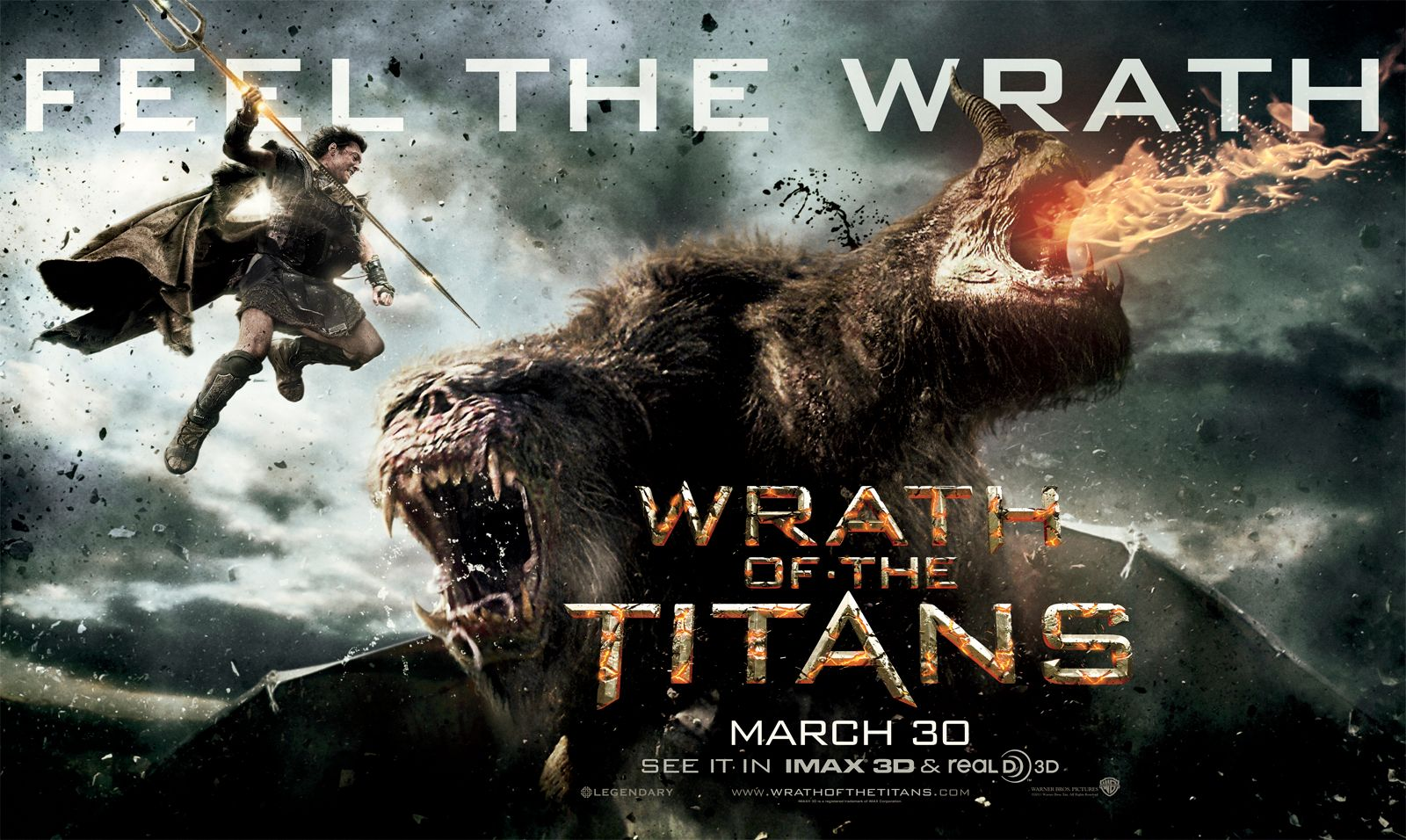 Wrath of the Titans in 3D 2012 Full Length Movie