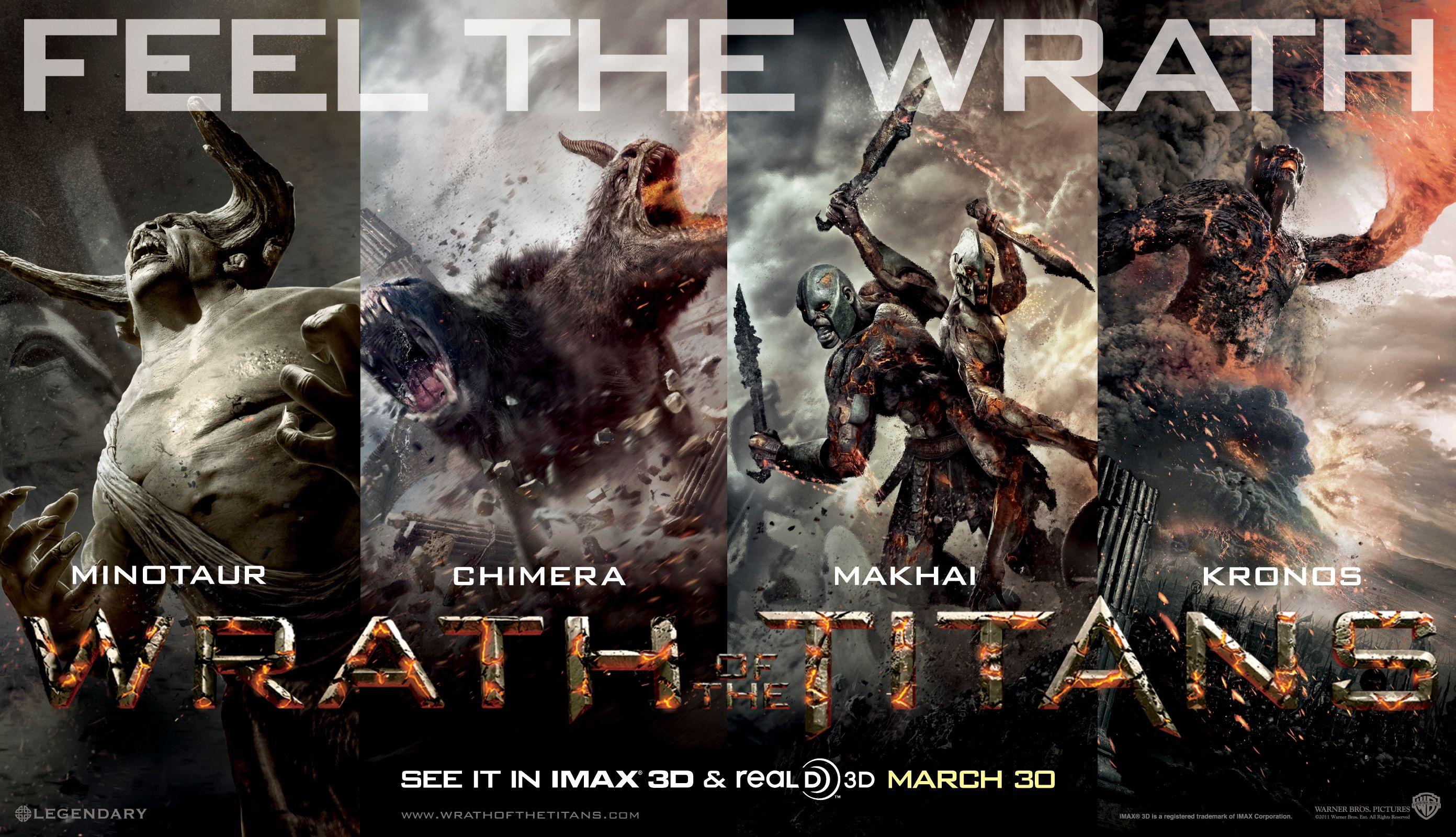 WRATH OF THE TITANS Movie Trailer | Collider  Clash Of The Titans 2017 Gods