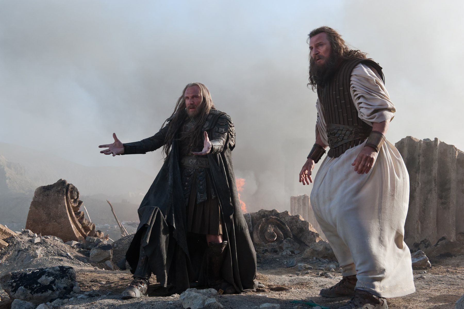 WRATH OF THE TITANS Images Featuring Liam Neeson and Ralph ...