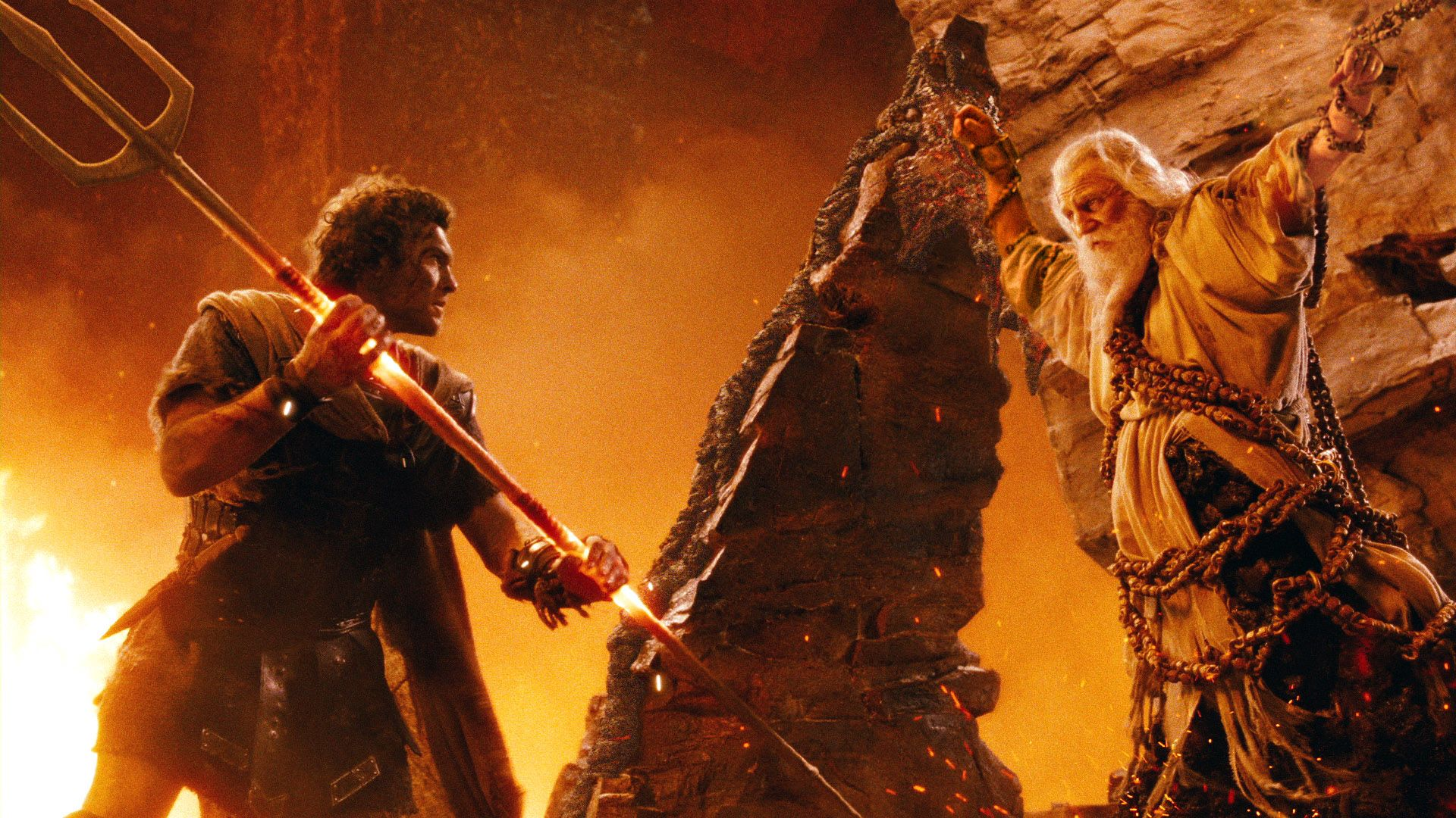 wrath of the titans images starring liam neeson collider